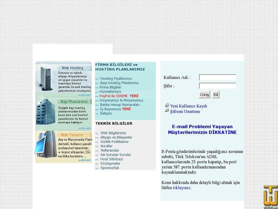 fethiyehost.com Screenshot