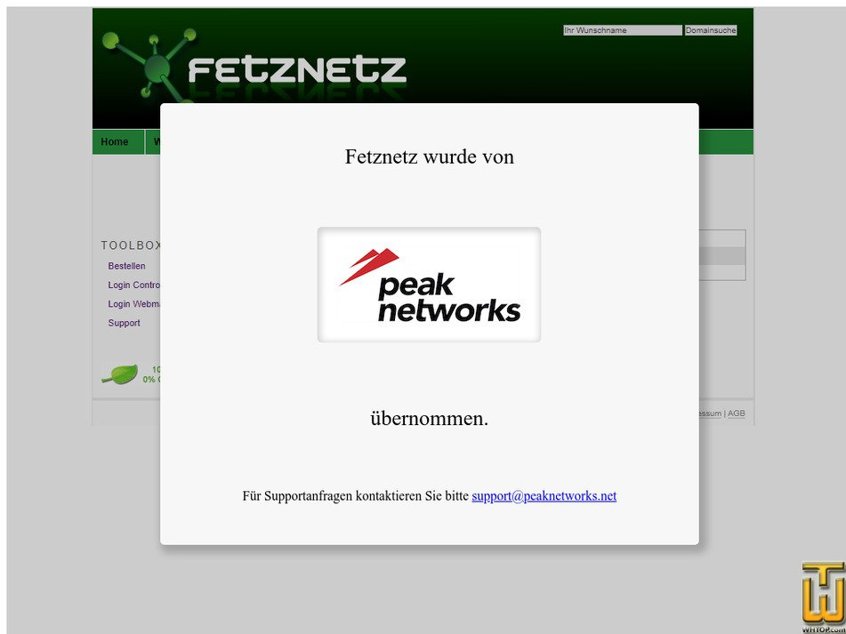 fetznetz.com Screenshot