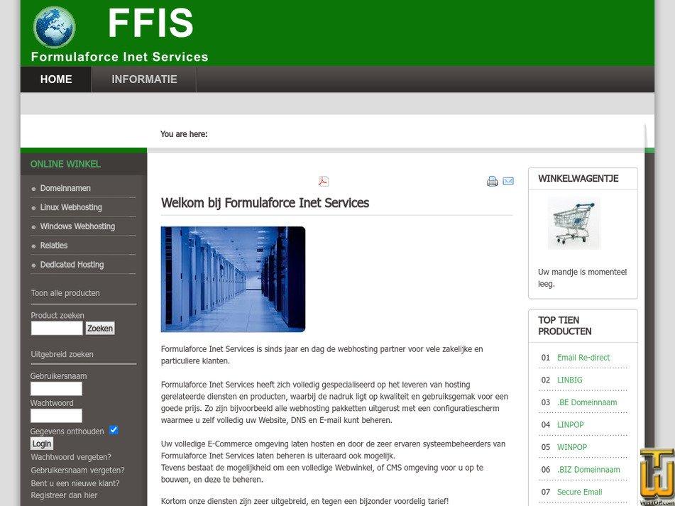 ffis.nl Screenshot