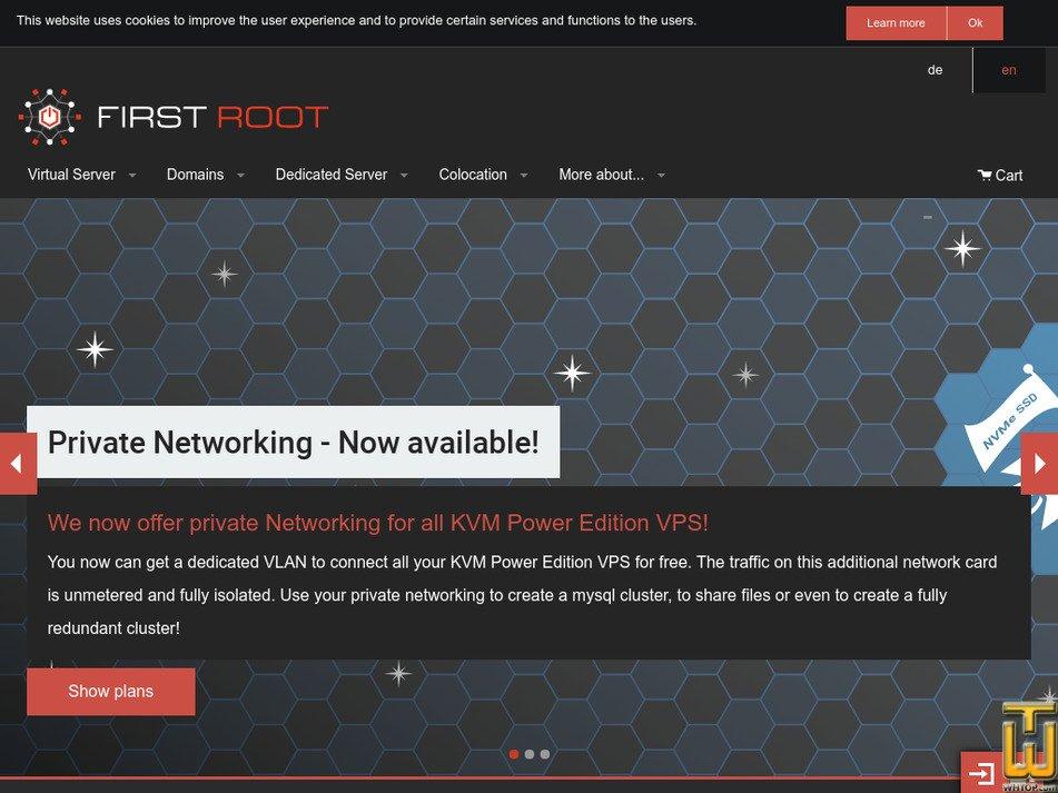 first-root.com Screenshot