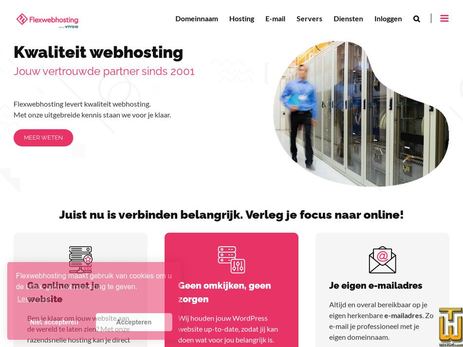 flexwebhosting.nl Screenshot