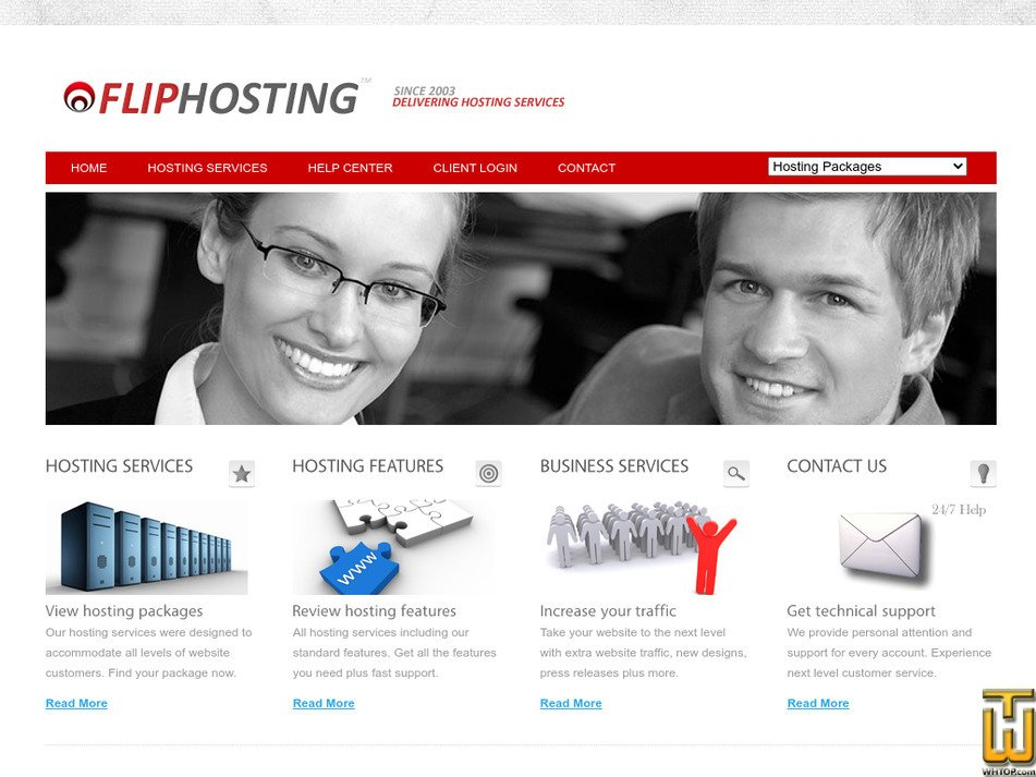 fliphosting.com Screenshot