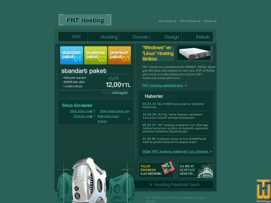 fnthosting.com Screenshot