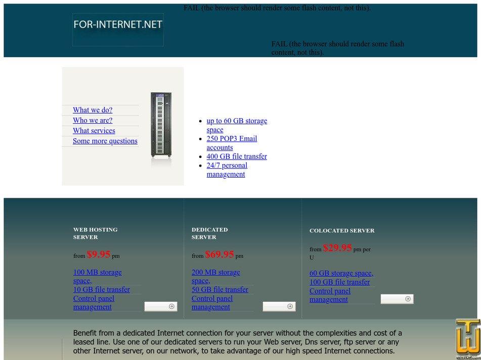 for-internet.net Screenshot