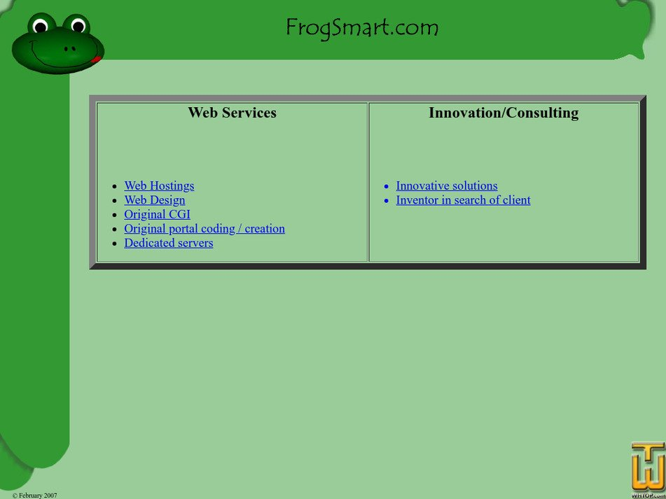 frogsmart.com Screenshot