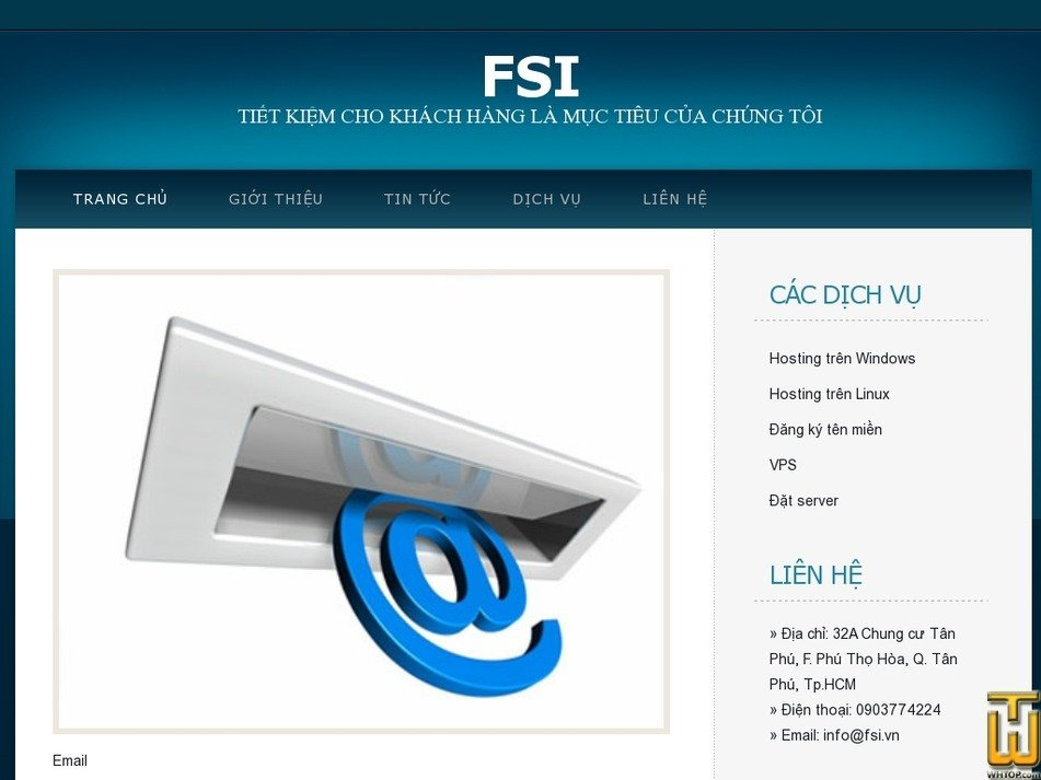 fsi.vn Screenshot