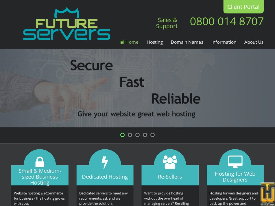 futureservers.net Screenshot