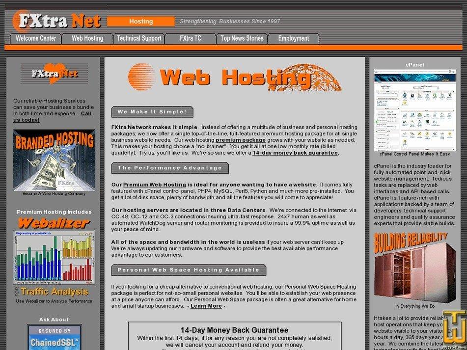 fxtra.net Screenshot