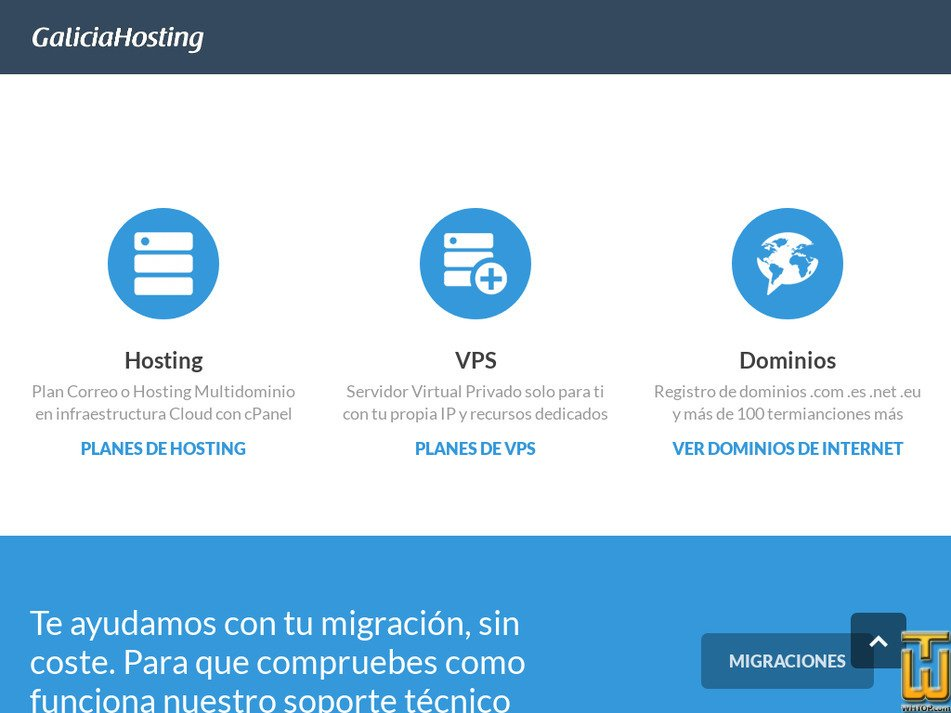 galiciahosting.com Screenshot