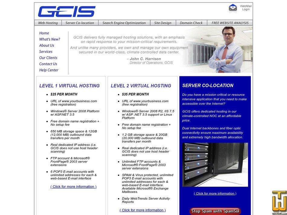 gcis.net Screenshot