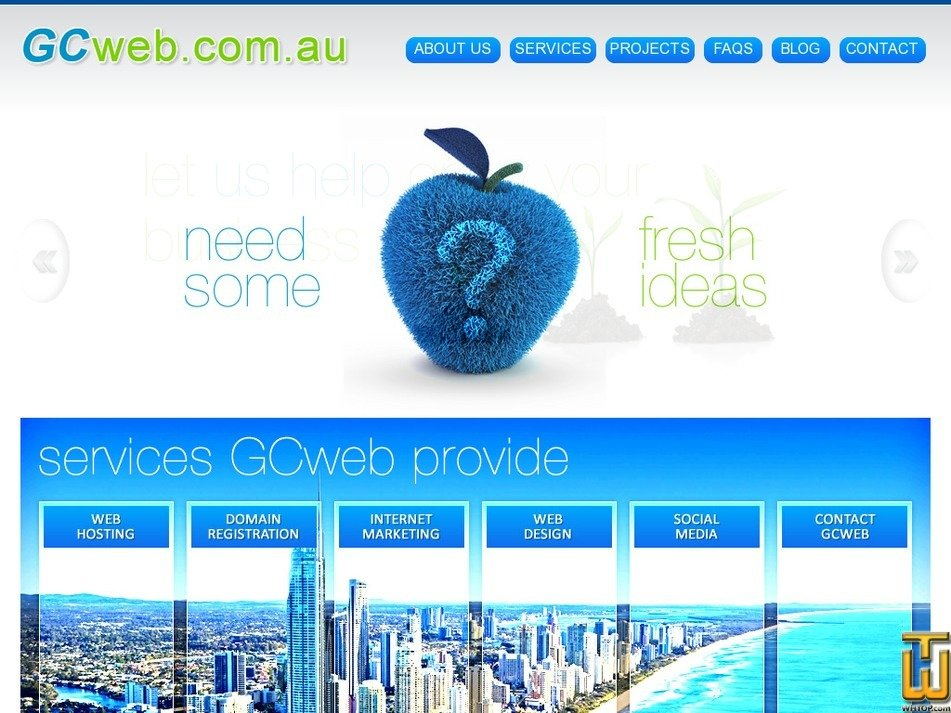 gcweb.com.au Screenshot