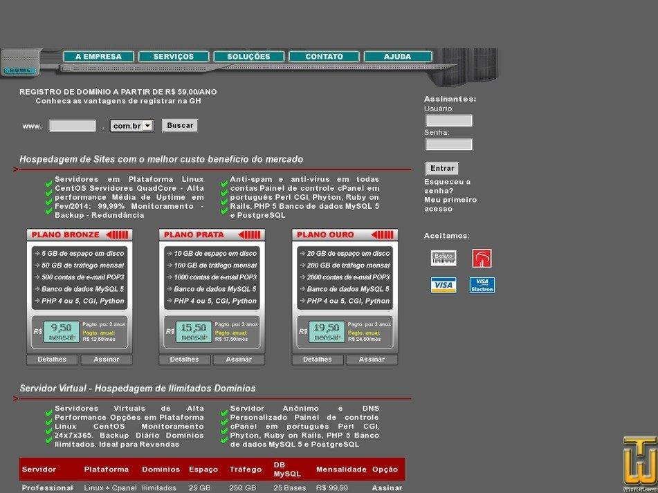 gh.com.br Screenshot