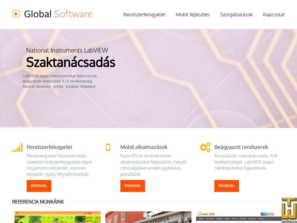 globalsoftware.hu Screenshot