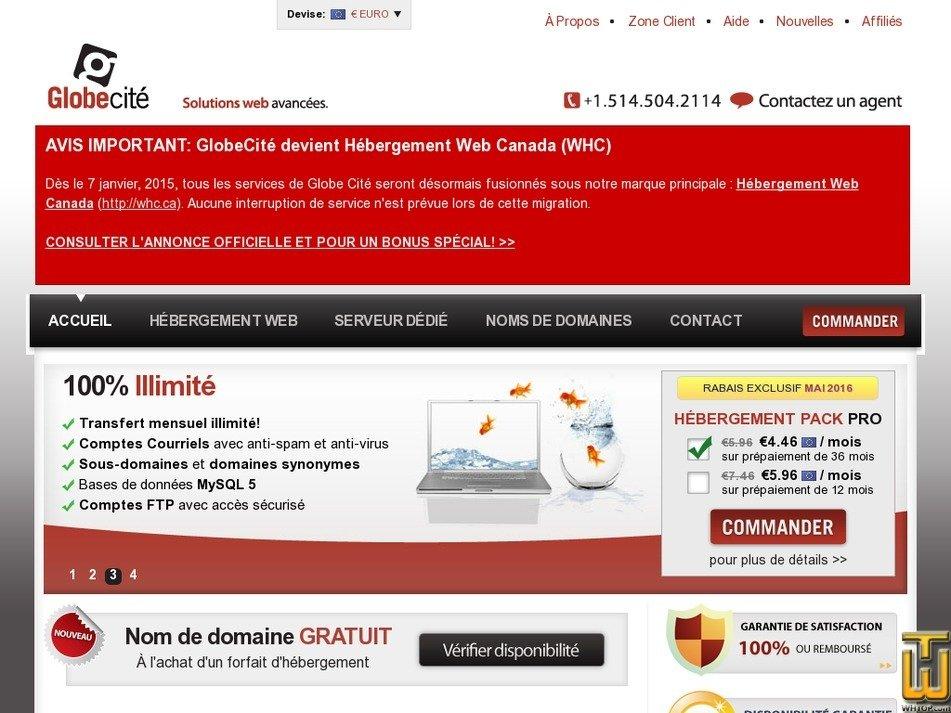globecite.com Screenshot
