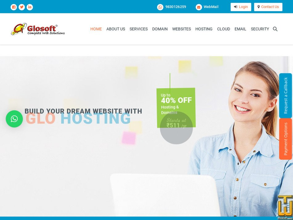 glosoftindia.com Screenshot
