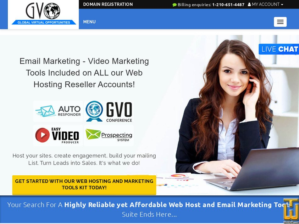 gogvo.com Screenshot