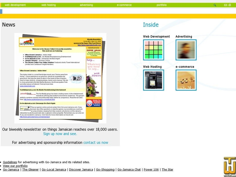 gojamaica-host.com Screenshot