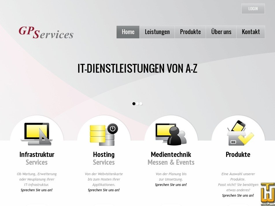 gpservices.de Screenshot