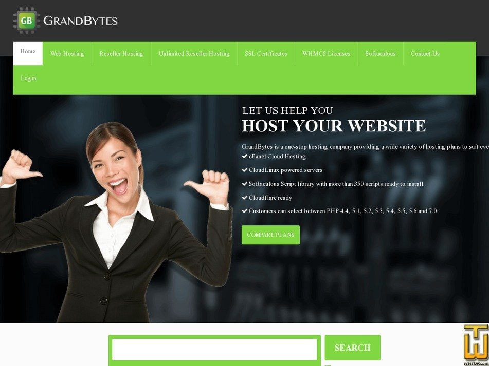 grandbytes.com Screenshot