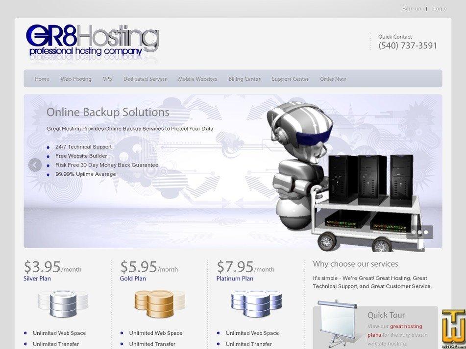 greathosting.com Screenshot