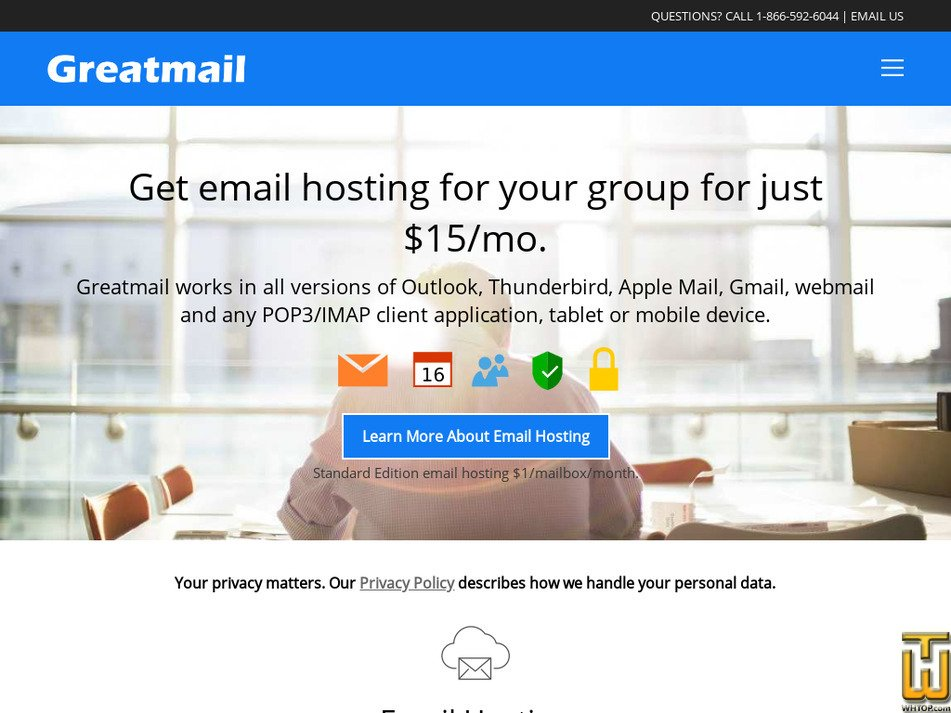 greatmail.com Screenshot