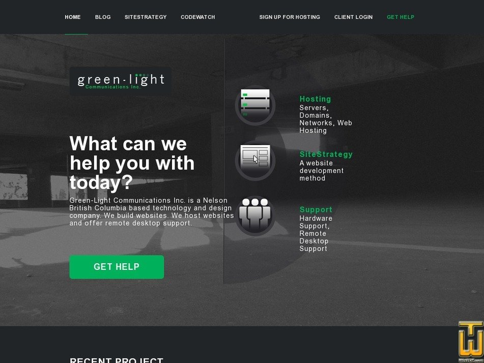 green-light.ca Screenshot