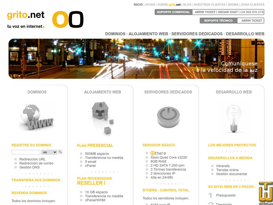 grito.net Screenshot