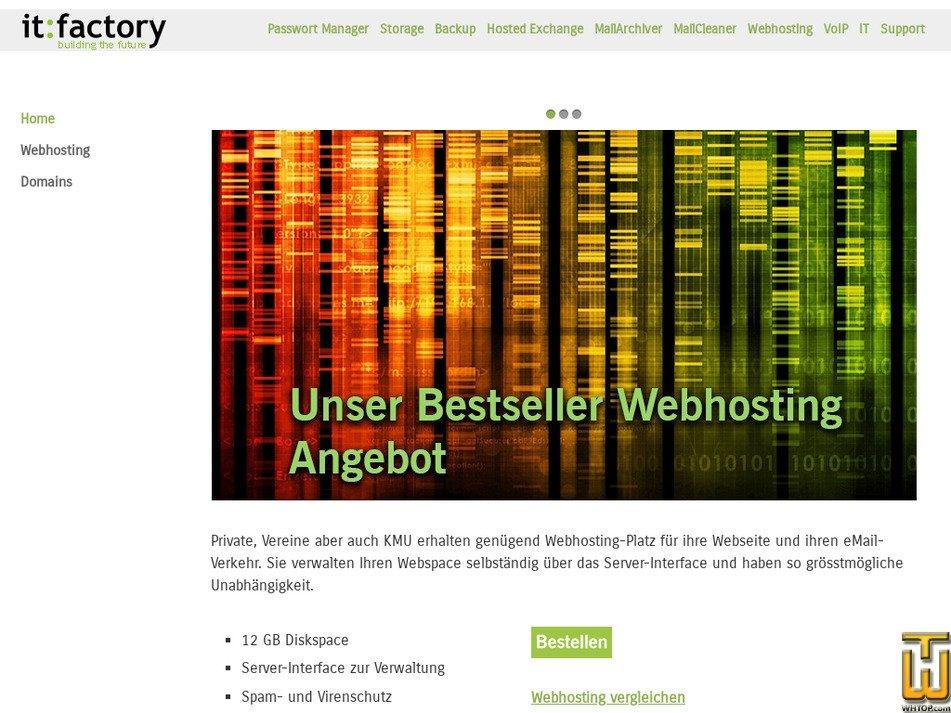 guest-hosting.ch Screenshot