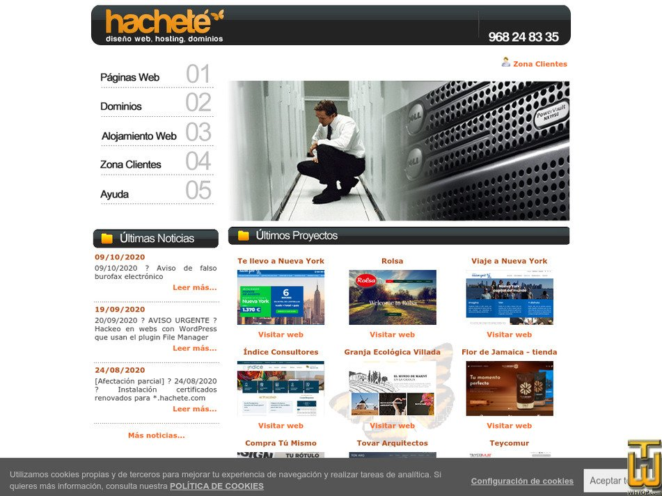 hachete.com Screenshot