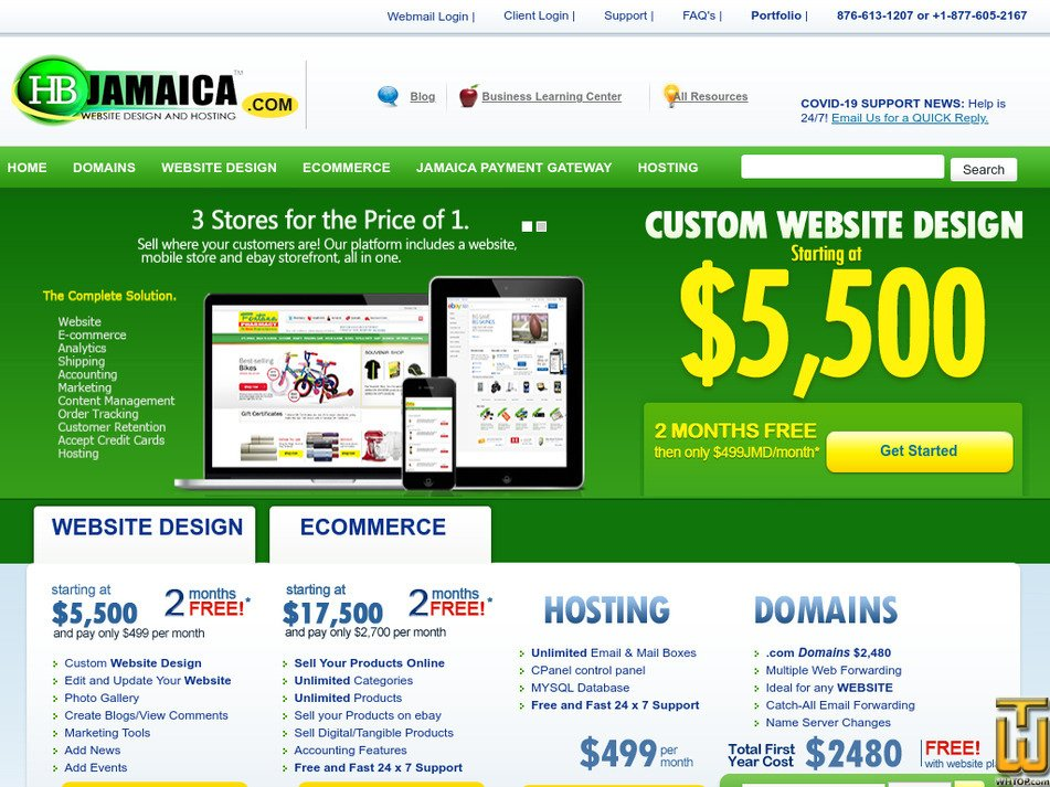 hbjamaica.com Screenshot