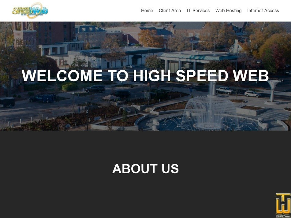 highspeedweb.net Screenshot