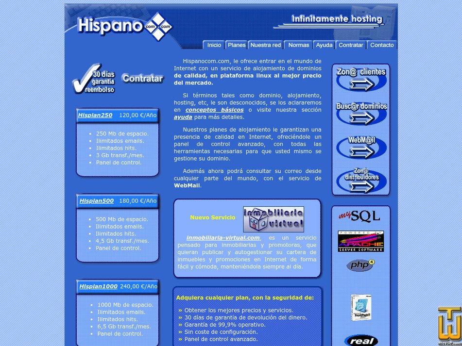 hispanocom.com Screenshot
