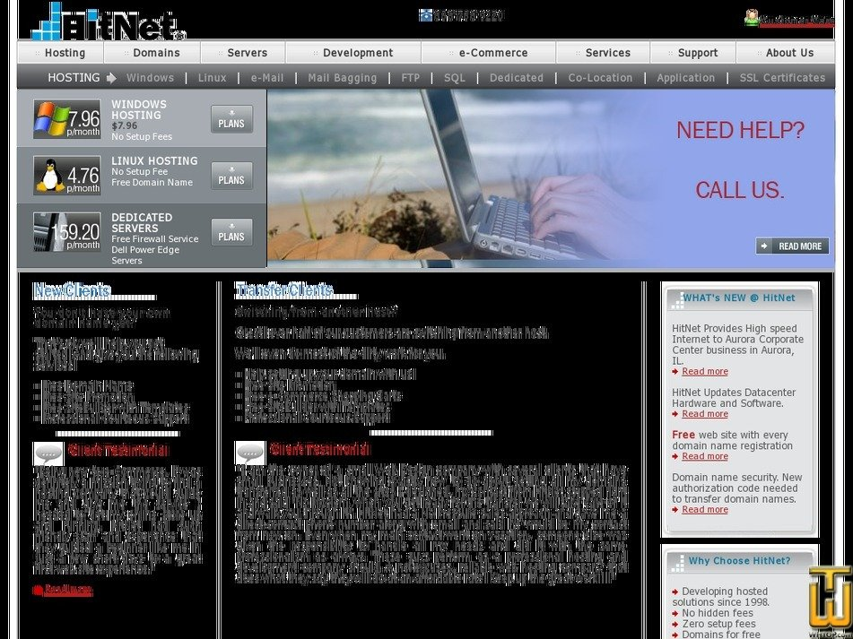 hitnet.com Screenshot