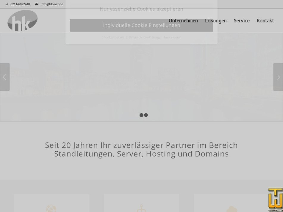 hk-net.de Screenshot