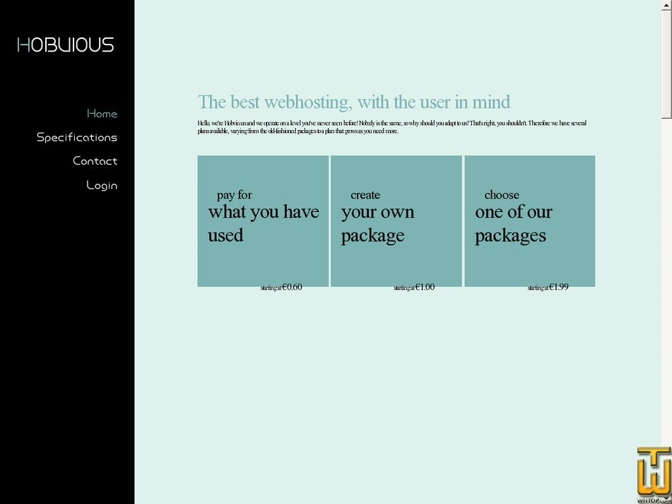 hobvious.com Screenshot