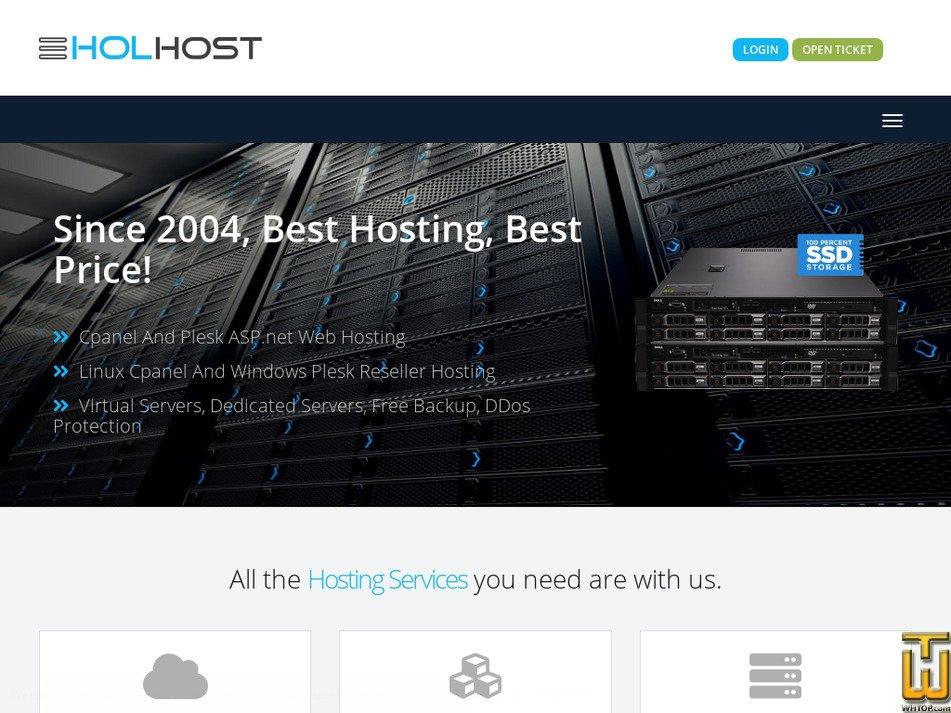 holhost.com Screenshot