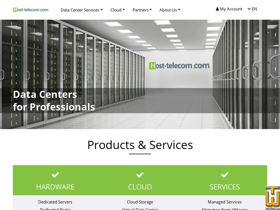 host-telecom.com Screenshot