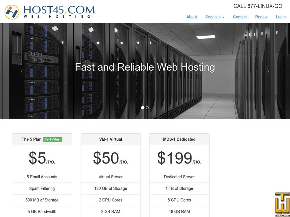 host45.com Screenshot
