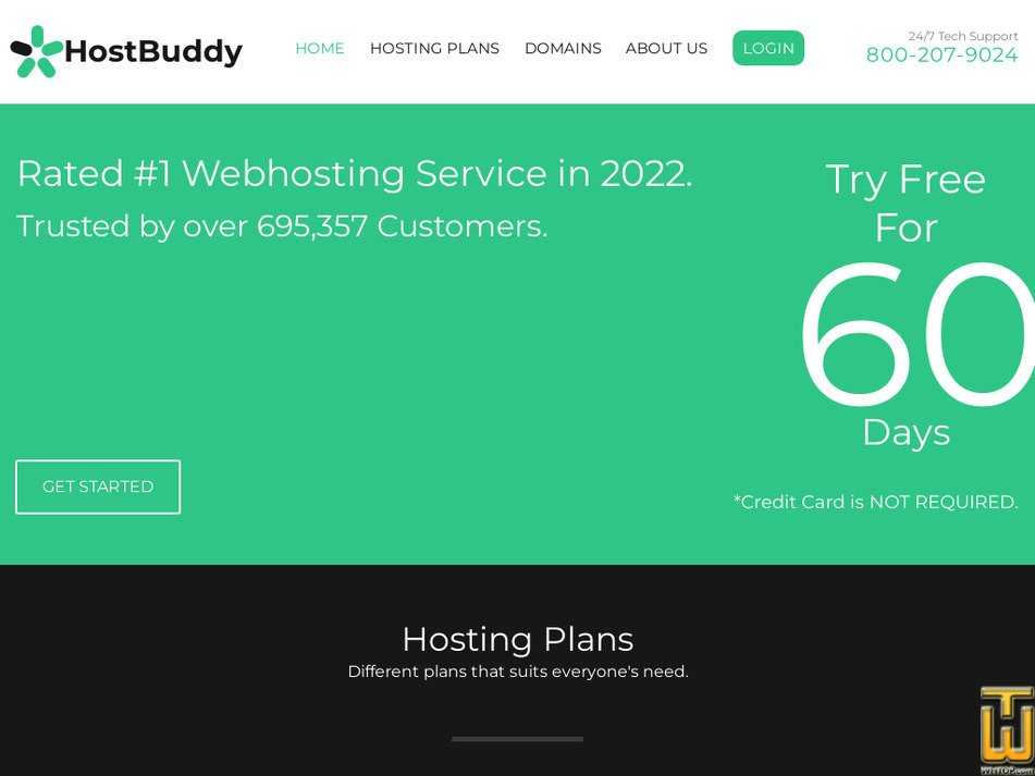 hostbuddy.com Screenshot