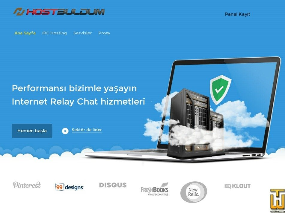 hostbuldum.com Screenshot