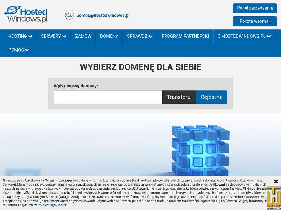hostedwindows.pl Screenshot