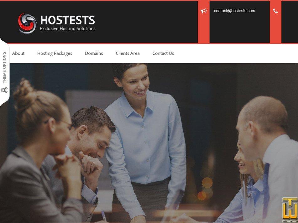 hostests.com Screenshot