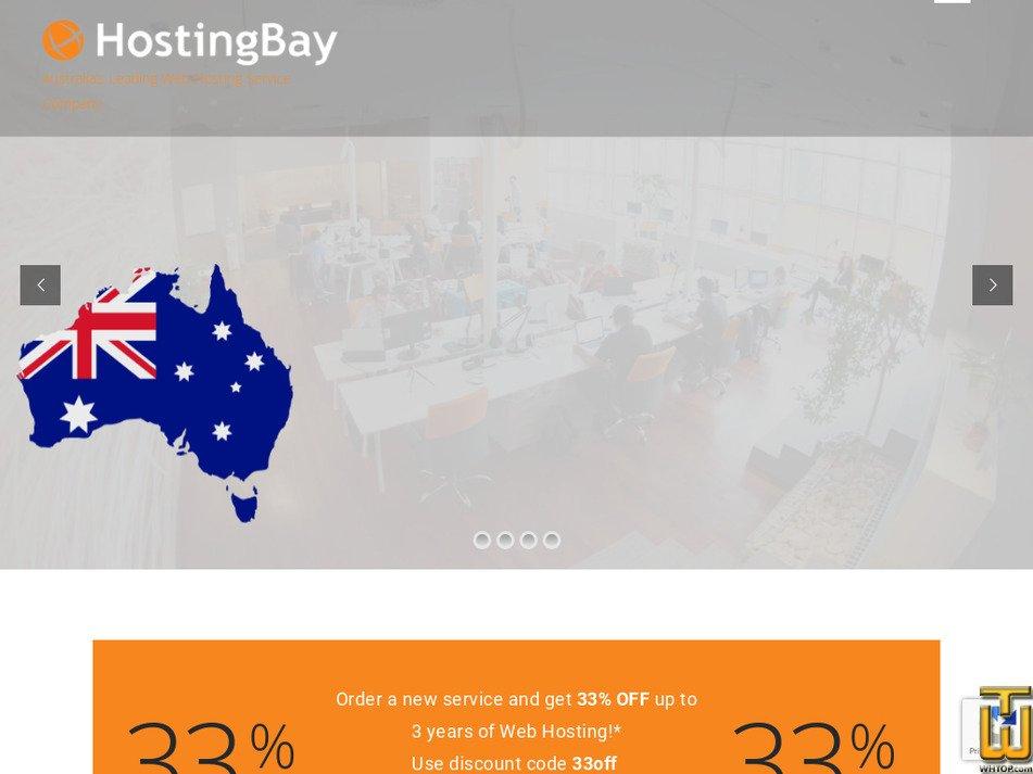 hostingbay.com.au Screenshot