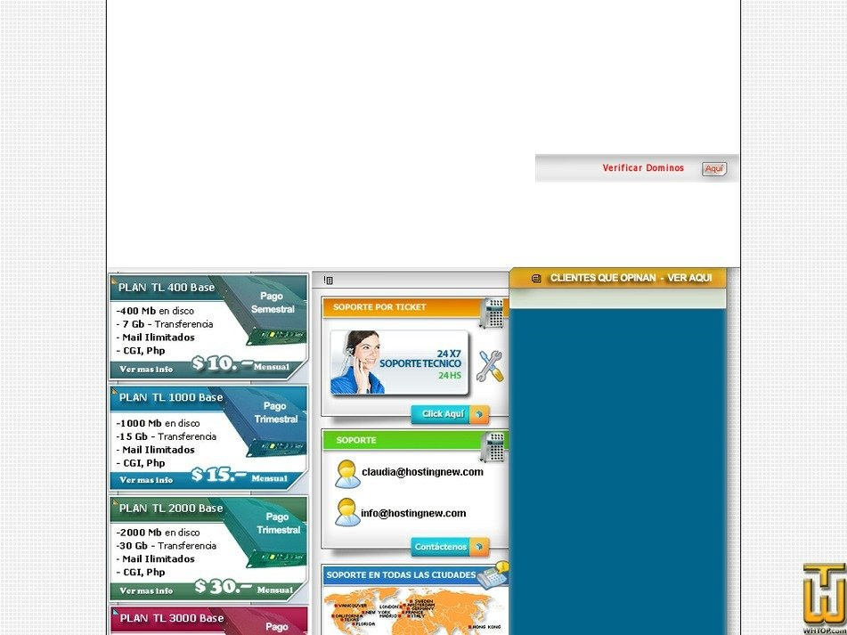 hostingnew.com Screenshot