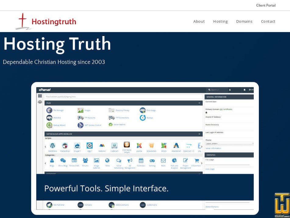 hostingtruth.net Screenshot