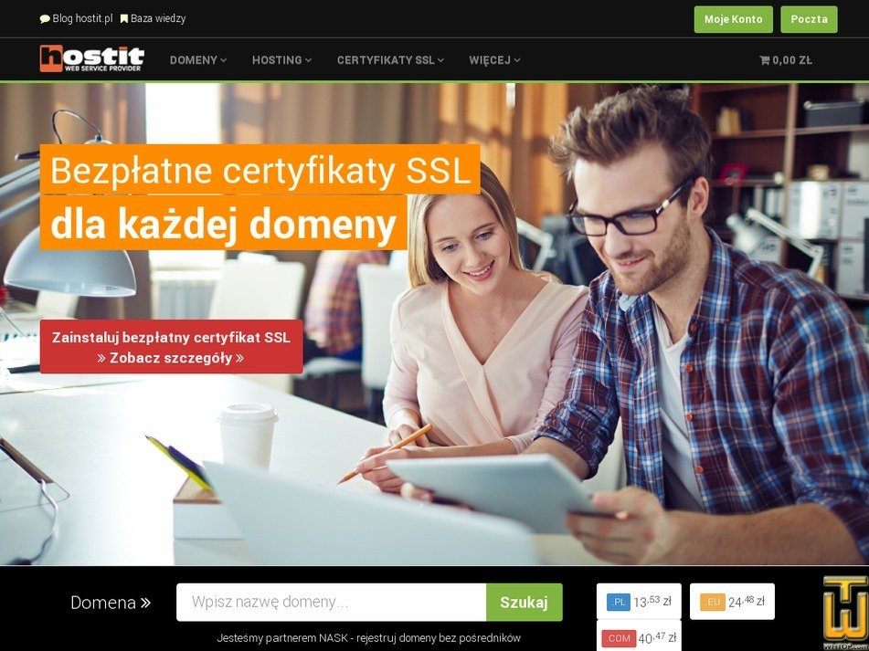 hostit.pl Screenshot