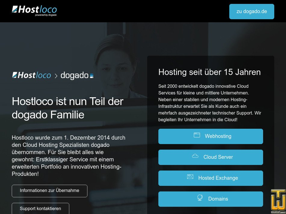 hostloco.com Screenshot