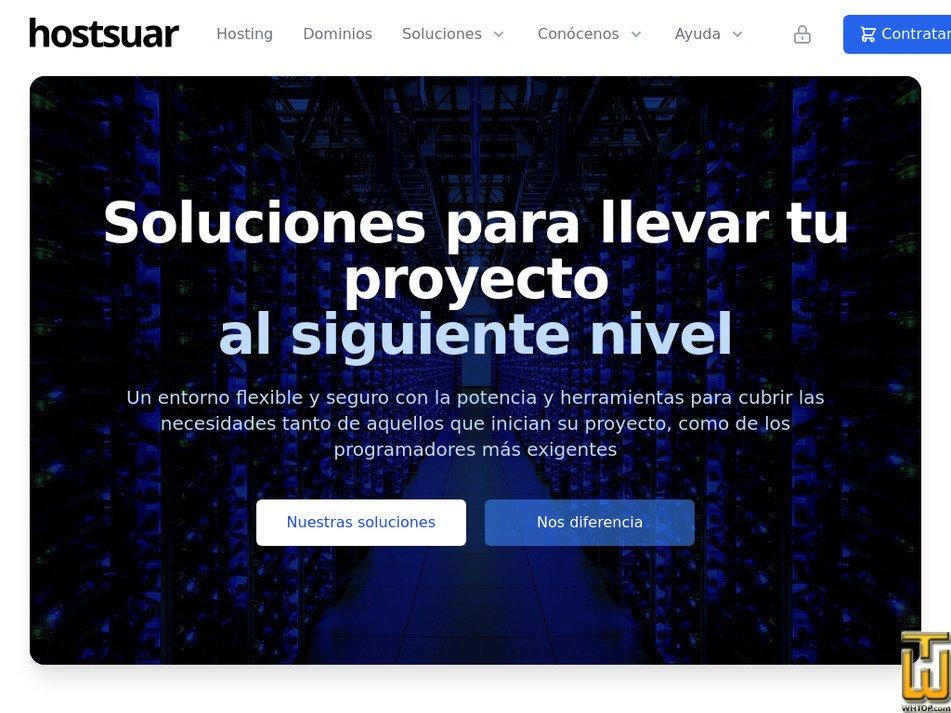 hostsuar.com Screenshot