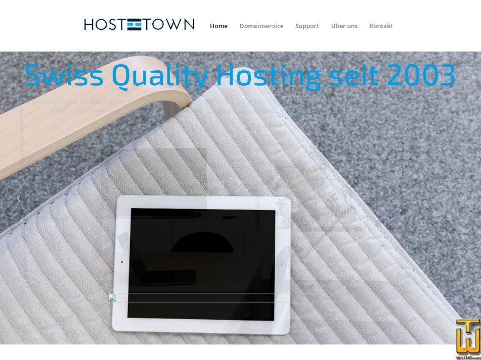 hosttown.ch Screenshot