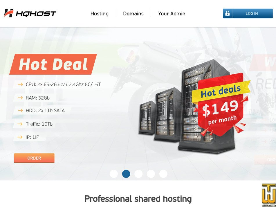 hqhost.net Screenshot